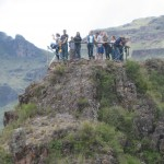 high above the ruins at Pisac