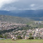 the view of Ayacucho from the Mirador