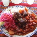 local cuisine: puka picante (spicy potatoes, rice, and meat)