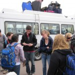 Loading up the bus in Cusco