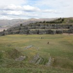 wide open fields at Sacsayhuamán