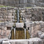 Incan fountains