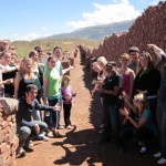 pointing the way in Pikillaqta, the ancient Wari city