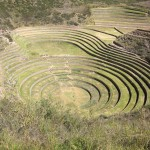 the Incan test gardens at Moray