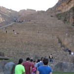 The ruins at Ollantaytambo