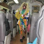 our in-train entertainment: a traditional legend comes alive