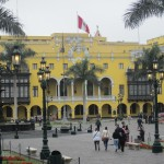 South side of the Plaza de Armas