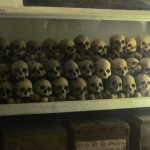 Skulls of archbishops long-deceased