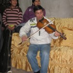 Vito plays Huaynos on his violin