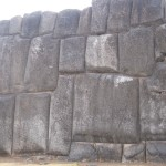 Huge stones, cut and polished to fit like a puzzle, at Sacsayhuaman