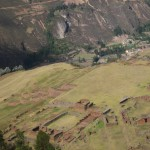 Huchuy Qosqo -- a seldom-visited Inca archaeological site -- looms above the valley