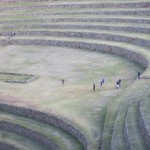The Incas designed an agricultural experiment station here