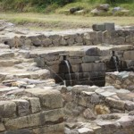 These Inca-era fountains and pools still function