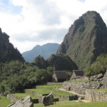 Return to the ancient city -- with Huayna Picchu in the background