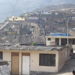 "One last look at this recently-constructed ""human settlement"" before returning to central Lima"