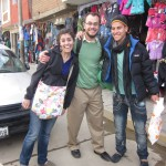 Exploring the local's market in Huaraz