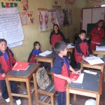 Children in Peru are taught English at an early age