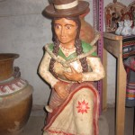 Quinua is famous for its ceramics