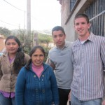 Going home with their host aunt, Tomasa, and cousin, Damaris
