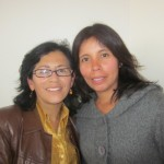 Our Spanish instructors, Luz Atapaucar and Viviana Pujada