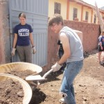 Our task is to move a large pile of dirt, or fill...