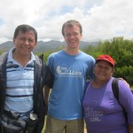 With our guide, Oswaldo, and our program assistant, Alicia
