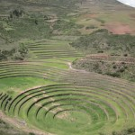 The Incas built this series of concentric circular terraces