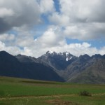 A great day in the Andes