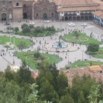 Plaza de Armas in the distance