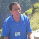 Our guide, Oswaldo Palomino
