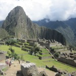 "Huayna Picchu (""Young Peak"") is the mountain behind the sacred city"