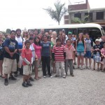 Arrival at Casa Hogar Juan Pablo II Children's Home