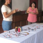 Eliana Mauriola Carrasco is a jewelry maker