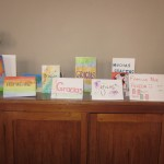 The cards are ready -- one for each family