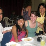 With Juan, Maria, Rosario and Ximena