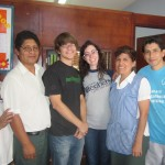 Eric and Annabeth with San Manuelito staff
