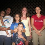Alisha with her host family, Belen, Roberto, Valeria, Ignacio and Fiorella
