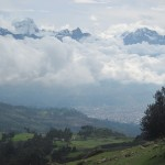 View of the Cordillera Blanca (White Range)