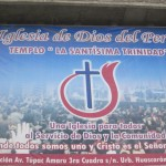 The church where Jordan's father pastors