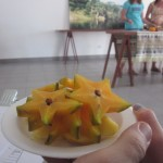 Fresh carambola, or star fruit