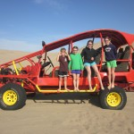 The next day -- a dune buggy tour