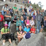 Everyone made it to the top of Huayna Picchu (at least once!)