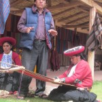 Rene introduces us to Andean weaving