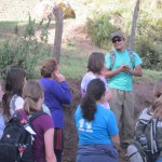 Our guide, Juan Hector, leads us on an adventure