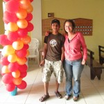 Juancho is a university student who was once sponsored by Compassion International