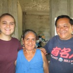 With grandma Trinidad and another uncle