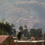 View of the hillside where Compassion and the School are located