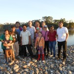 Our mission team along the Marinon River