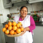 Alicia serves up something new -- granadilla fruit