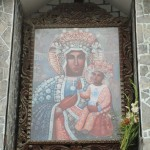 A shrine to the Virgin Mary -- note the Polish influence